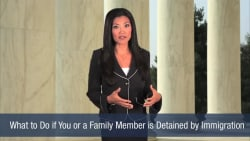 What to Do if You or a Family Member is Detained by Immigration