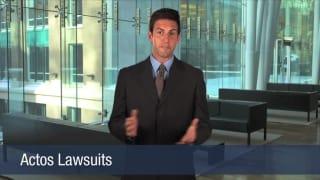 Video Actos Lawsuits