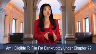 Video Am I Eligible To File For Bankruptcy Under Chapter 7