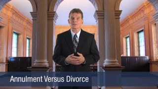 Video Annulment Versus Divorce
