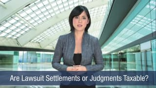 Video Are Lawsuit Settlements or Judgments Taxable