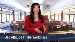 Video Bad Attitude In The Workplace