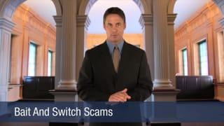 Video Bait And Switch Scams