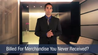 Video Billed For Merchandise You Never Received