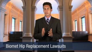 Video Biomet Hip Replacement Lawsuits