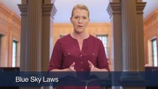 Video Blue Sky Laws