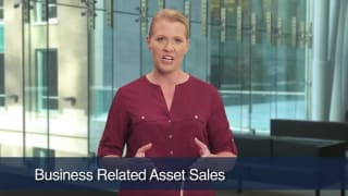 Video Business Related Asset Sales