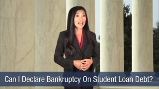 Video Can I Declare Bankruptcy On Student Loan Debt