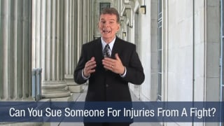 Video Can You Sue Someone For Injuries From A Fight