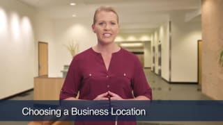 Video Choosing A Business Location