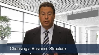 Video Choosing a Business Structure