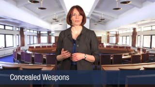 Video Concealed Weapons