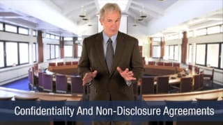 Video Confidentiality And Non-Disclosure Agreements