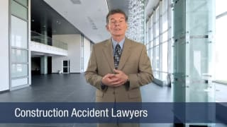 Video Construction Accident Lawyers
