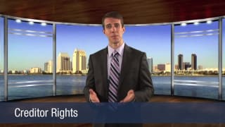 Video Creditor Rights