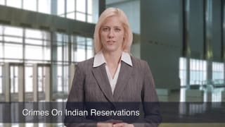 Video Crimes On Indian Reservations