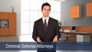 Video Criminal Defense Attorneys