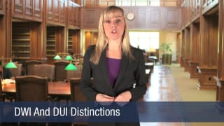 Video DWI And DUI Distinctions