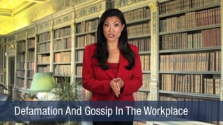 Video Defamation And Gossip In The Workplace