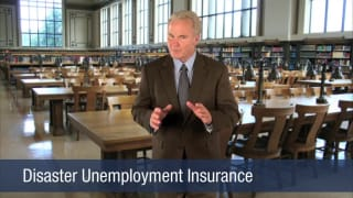 Video Disaster Unemployment Insurance