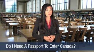 Video Do I Need A Passport To Enter Canada