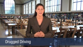 Video Drugged Driving