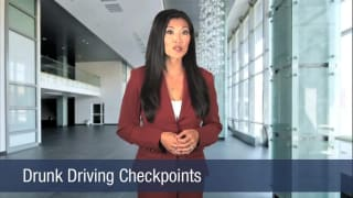 Video Drunk Driving Checkpoints