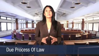 Video Due Process Of Law