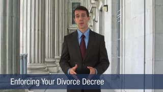 Video Enforcing Your Divorce Decree
