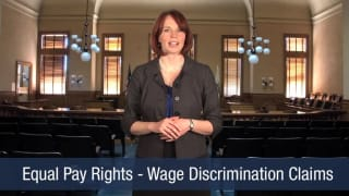Video Equal Pay Rights – Wage Discrimination Claims