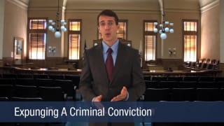 Video Expunging A Criminal Conviction