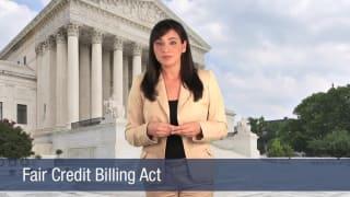 Video Fair Credit Billing Act