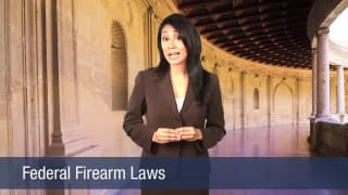Video Federal Firearm Laws