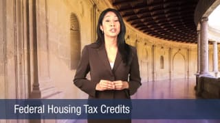 Video Federal Housing Tax Credits
