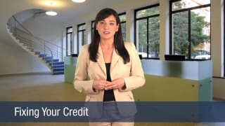 Video Fixing Your Credit