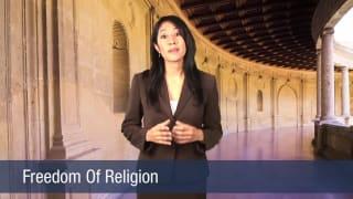 Video Freedom Of Religion