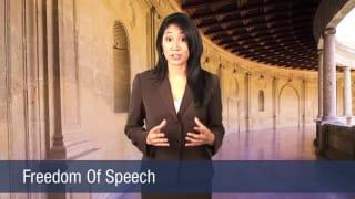 Video Freedom Of Speech