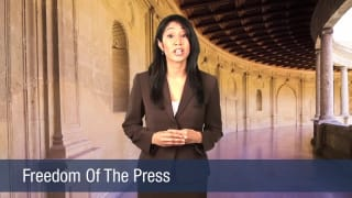 Video Freedom Of The Press