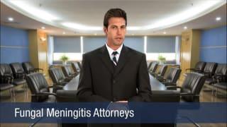 Video Fungal Meningitis Attorneys