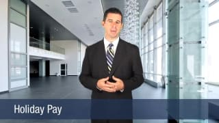 Video Holiday Pay