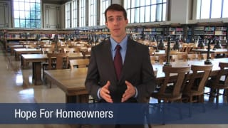 Video Hope For Homeowners
