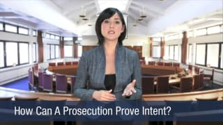 Video How Can A Prosecution Prove Intent