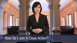Video How Do I Join A Class Action