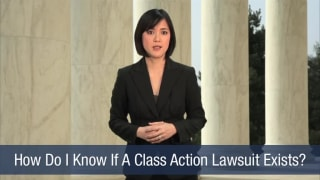 Video How Do I Know If A Class Action Lawsuit Exists