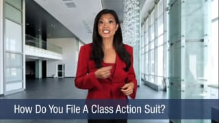 Video How Do You File A Class Action Suit