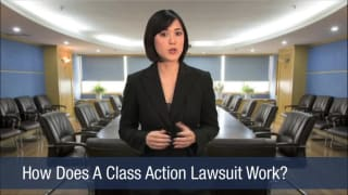 Video How Does A Class Action Lawsuit Work