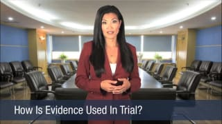 Video How Is Evidence Used In Trial