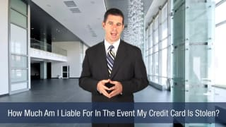 Video How Much Am I Liable For In The Event My Credit Card Is Stolen