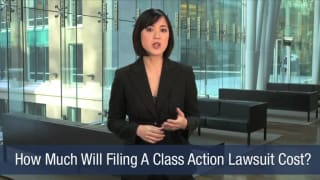Video How Much Will Filing A Class Action Lawsuit Cost