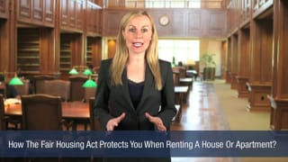 Video How The Fair Housing Act Protects You When Renting A House Or Apartment